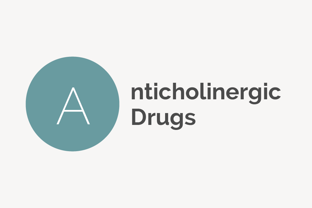 Anticholinergic Drugs Definition