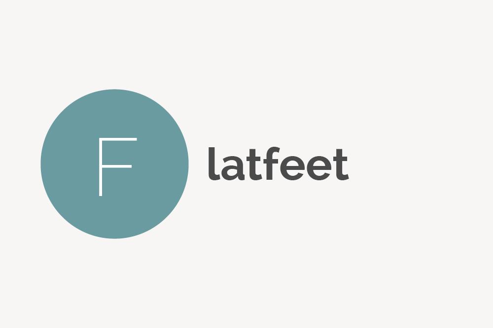 Flat Feet Definition