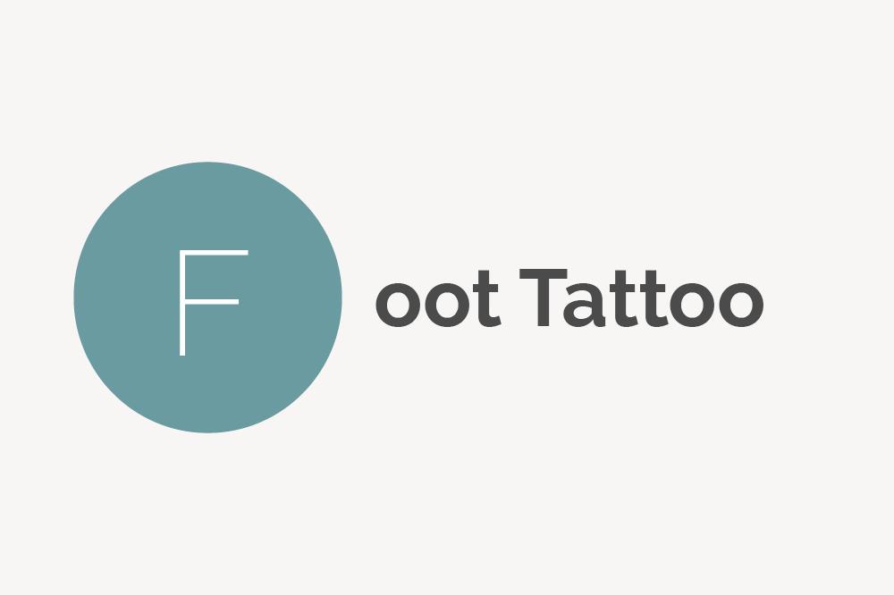 Foot Tattoo