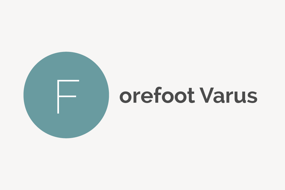 Forefoot Varus Definition
