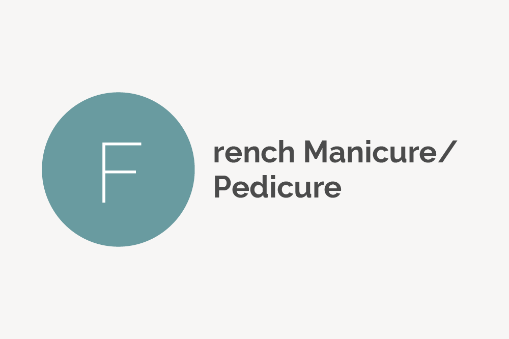 French Manicure and Pedicure Definition