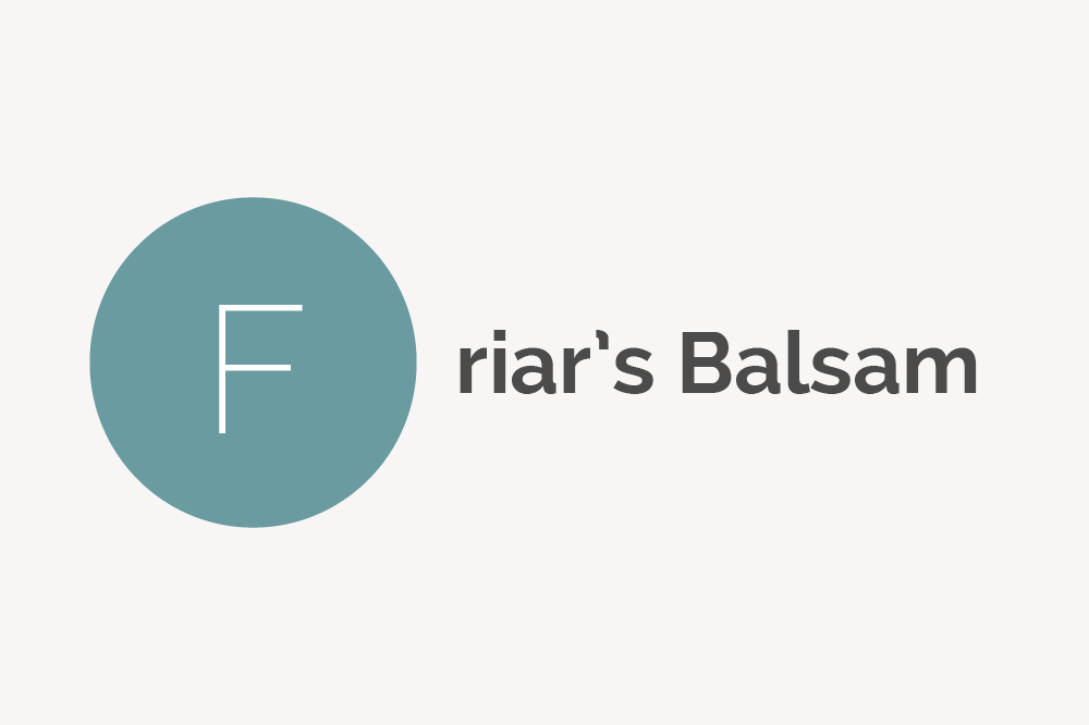 Friar's Balsam Definition