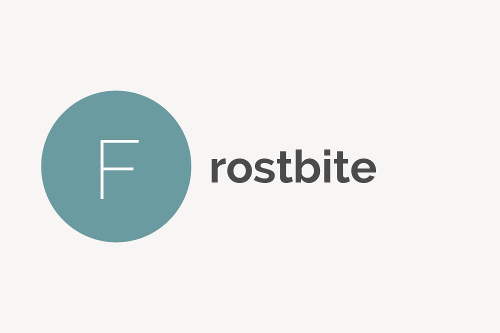 Frostbite Definition
