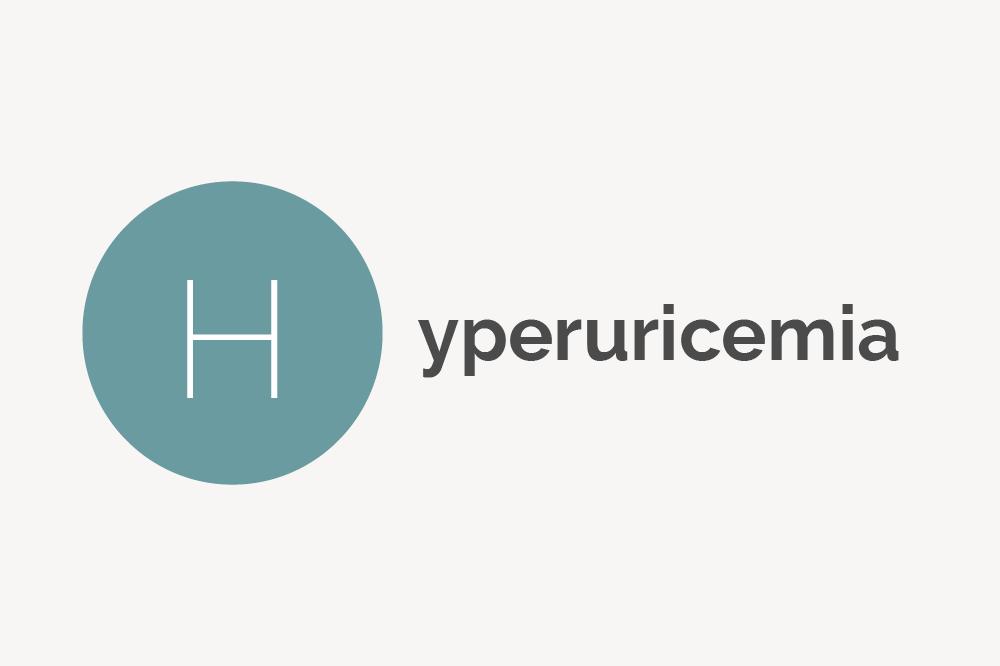 Hyperuricemia Definition