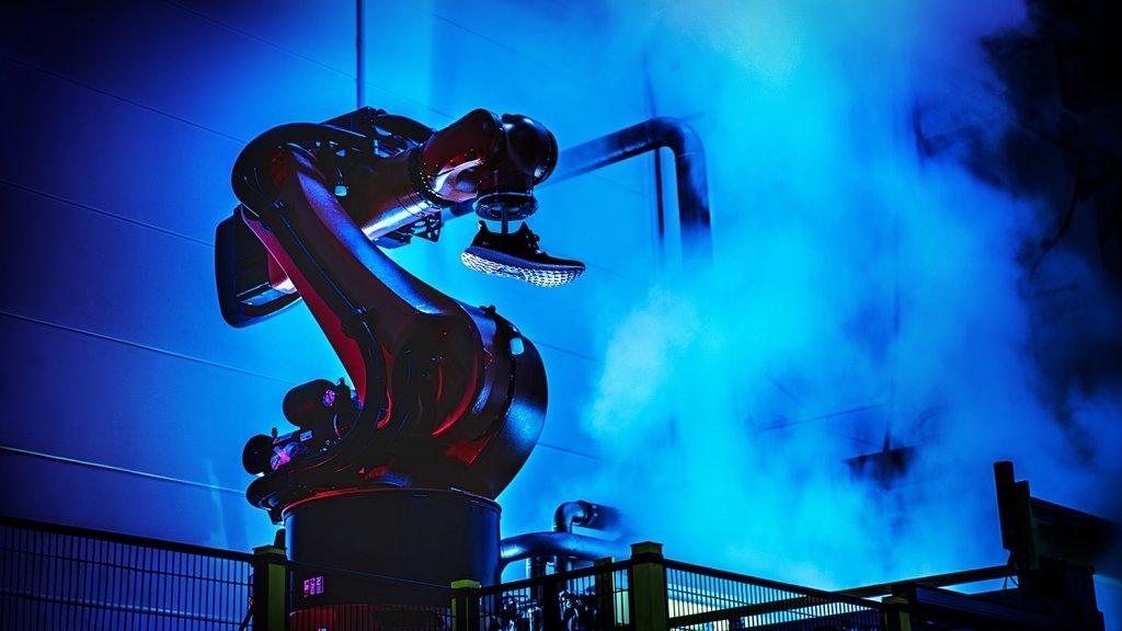 Adidas German Speed Factory Robot