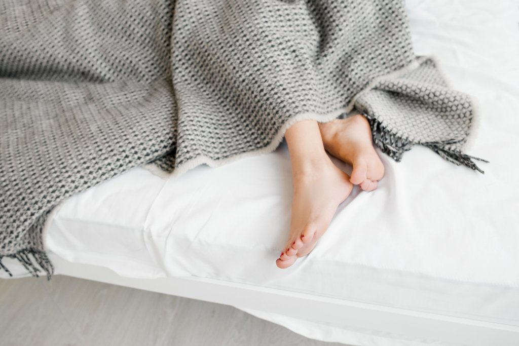 Foot Wrap Replaces Medicine Restless Leg Syndrome (RLS) Treatment