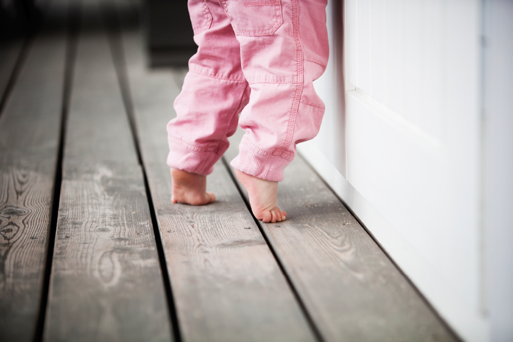 Toddler Toe Walking Usually Not A Sign of More Serious Problem