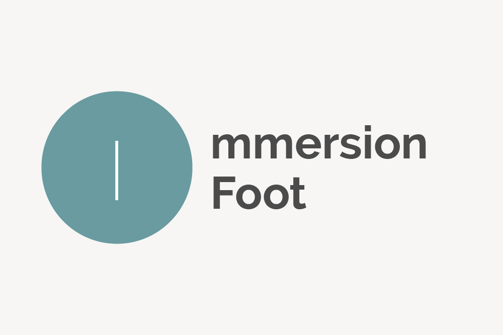 Immersion Foot Definition