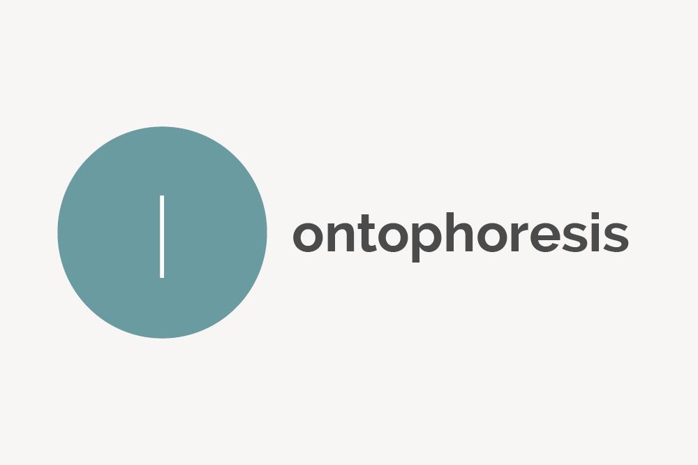 Iontophoresis Definition
