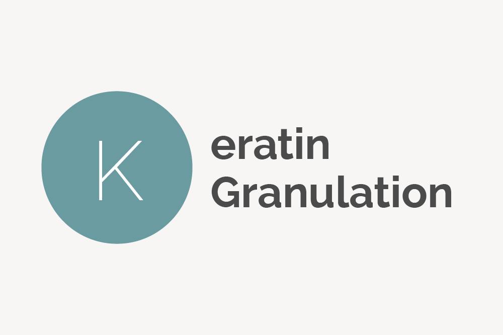 Keratin Granulation Definition