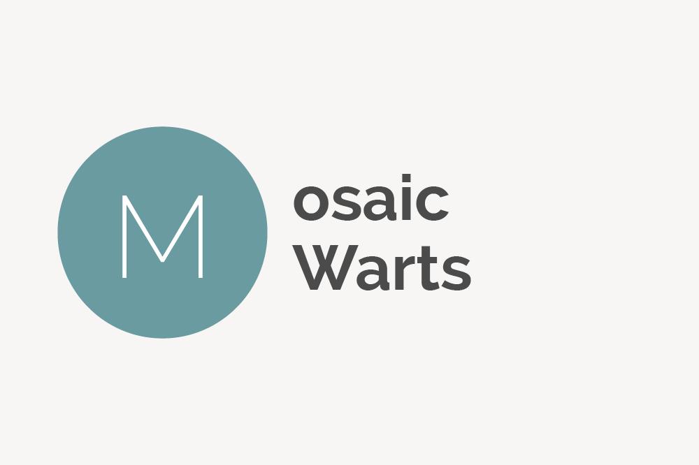 Mosaic Warts Definition