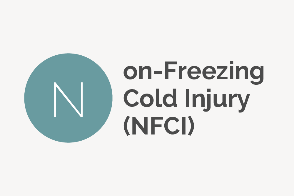 Non-freezing Cold Injury (NFCI) Definition