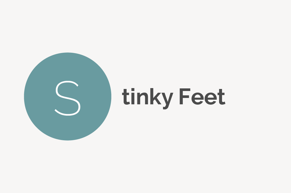 Stinky Feet Definition