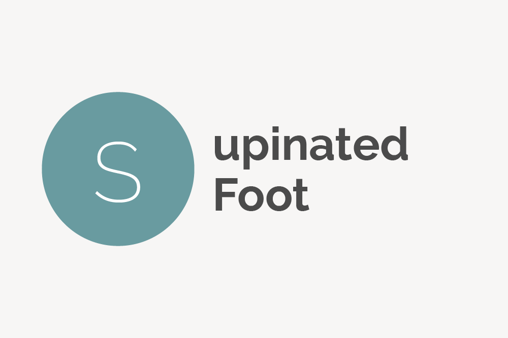 Supinated Foot Definition